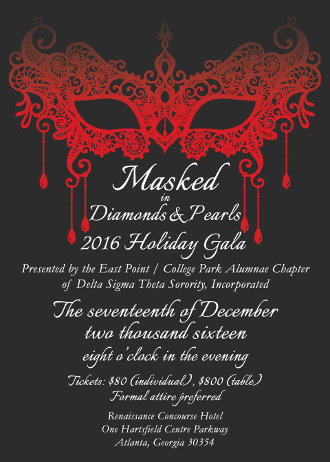 East Point/College Park -Holiday-Gala  December 17, 2016