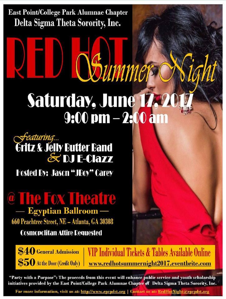 Red Hot Summer Night Event - June 17, 2017